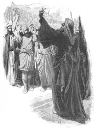 C. J. Staniland's depiction of the elders of Israel demanding a king from Samuel