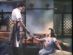 "Gregory Peck and Susan Hayward portrayed ""David and Bathsheba"" in the Oscar-nominated 1951 movie by that name"