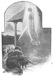 A. P.'s depiction of the Angel of the Lord on the threshing floor of Araunah
