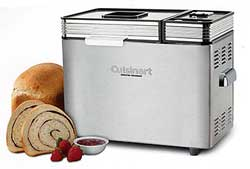 A picture by an unidentified photographer of a Cuisinart bread maker