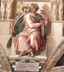 Michelangelo�s �Isaiah� in the Sistine Chapel