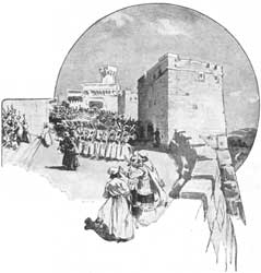 A depiction by an unidentified artist of the dedication of the Jerusalem wall
